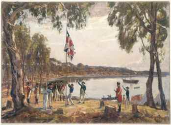 Inglaterra coloniza Australia