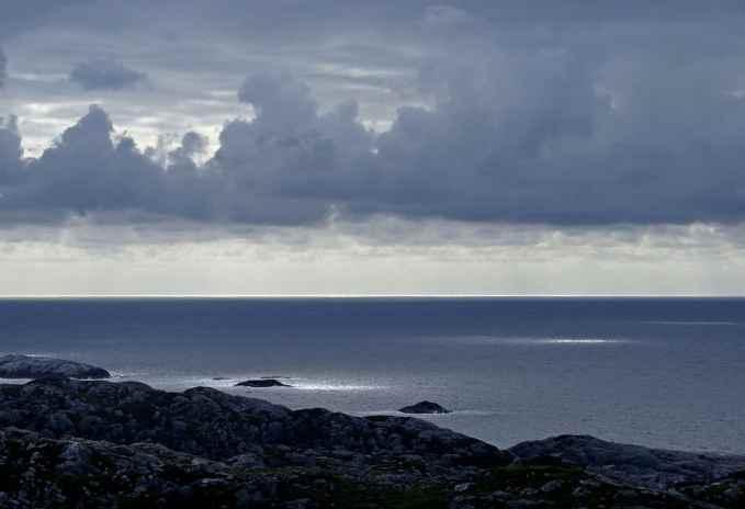 paisaje del Mar del Norte