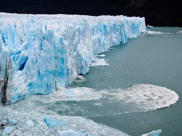 nacimiento de un iceberg