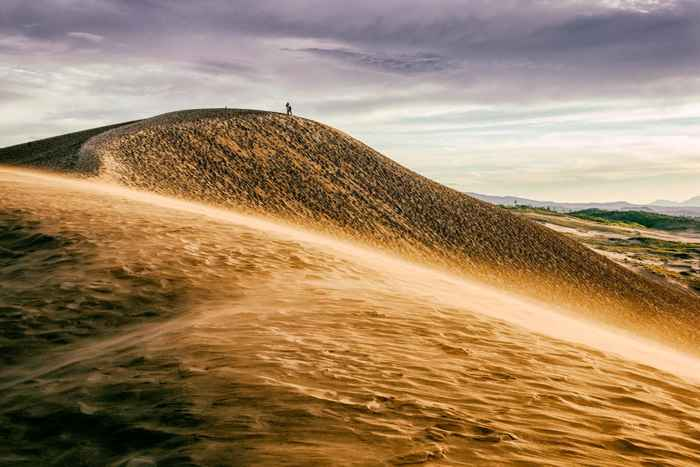 dunas de arena de Tottori, Japón