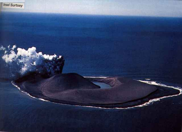 erupción de Surtsey