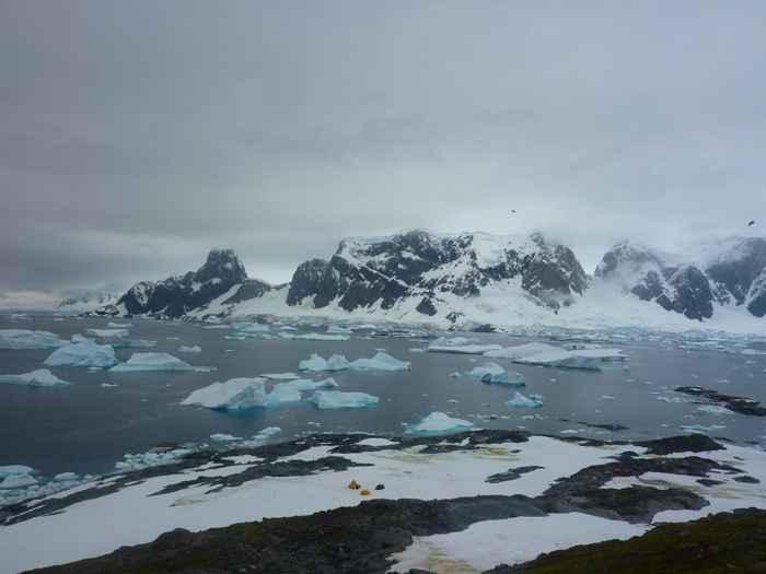 Isla Verde, Antártida