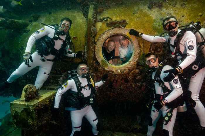 aquanautas de la misión NEEMO