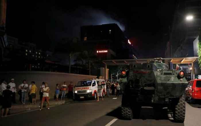 ejército en el Resorts World Manila