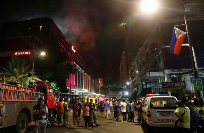 explosiones en el Resorts World Manila