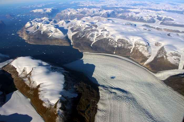 glaciar Rink de Groenlandia