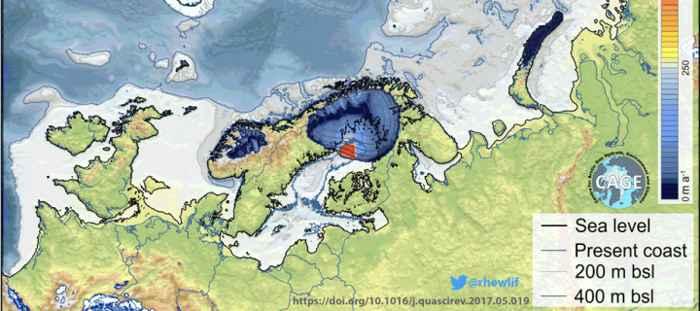 placa de hielo de Europa antes del colapso