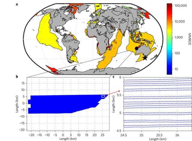 potenciales depósitos de petróleo en el mundo