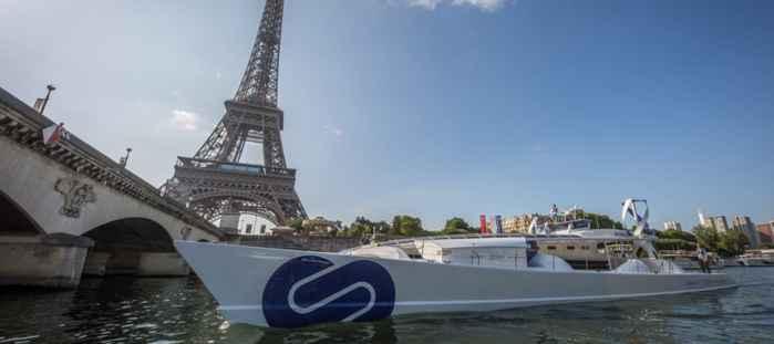 Energy Observer en Paris