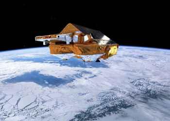 misiín hielo de la ESA