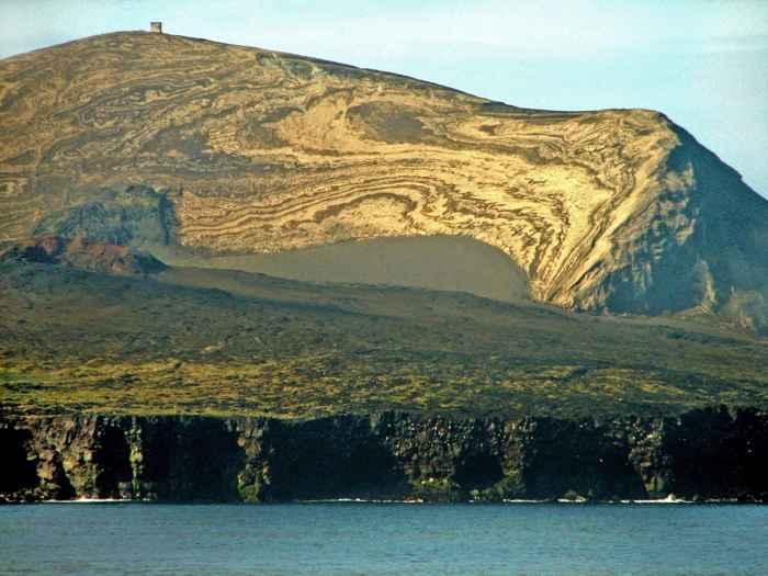 paisaje de la isla de Surtsey