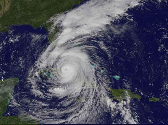 el huracán Irma se acerca a Florida