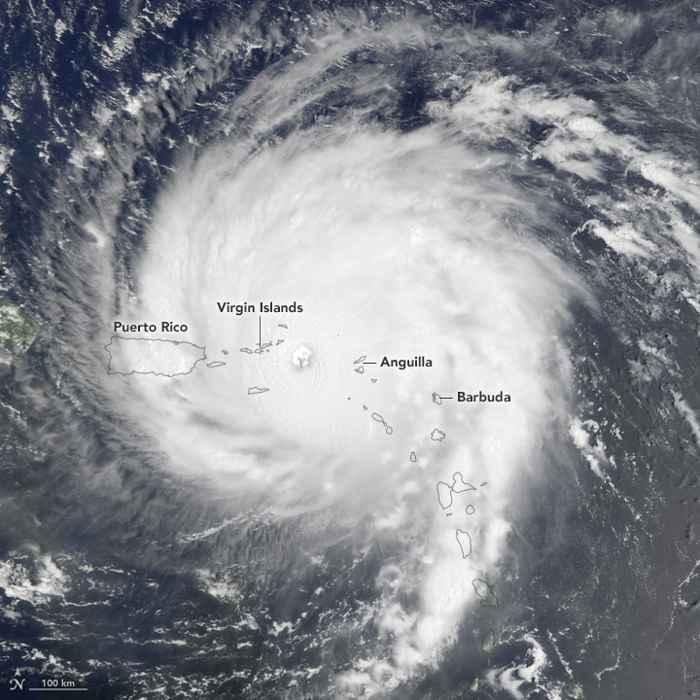 Irma se dirige a Puerto Rico