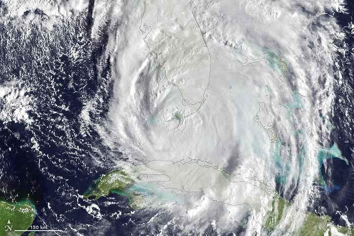 Irma sobre Florida