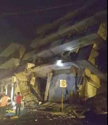 daños por el terremoto de México