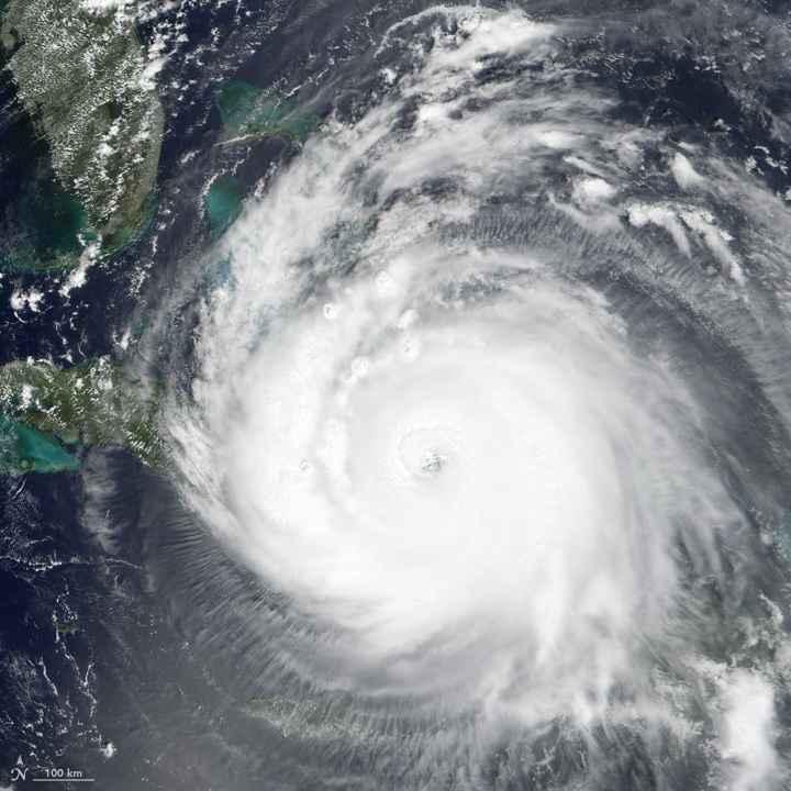el huracán Irma de acerca a Florida