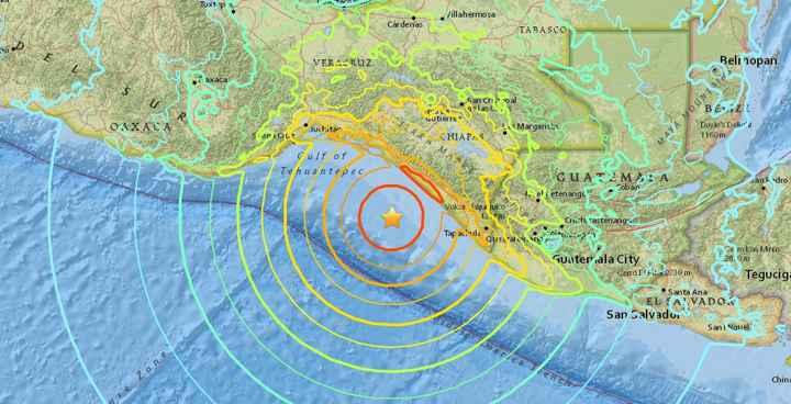 terremoto en la costa de México