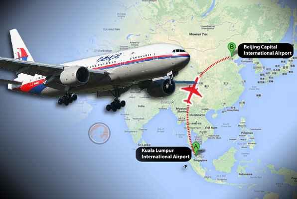 vuelo MH370 de Kuala Lumpur a Beijing