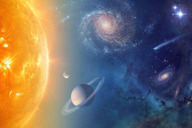 búsqueda de agua uen el Universo