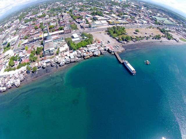 agujero submarino en Gensan, Filipinas
