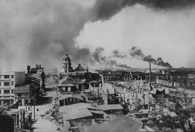 Binondo en llamas 1945