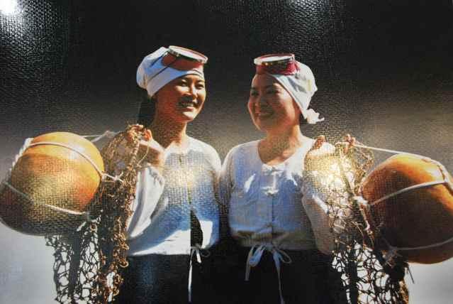 traje tradicional de las buzos haenyeo, las mujeres del mar