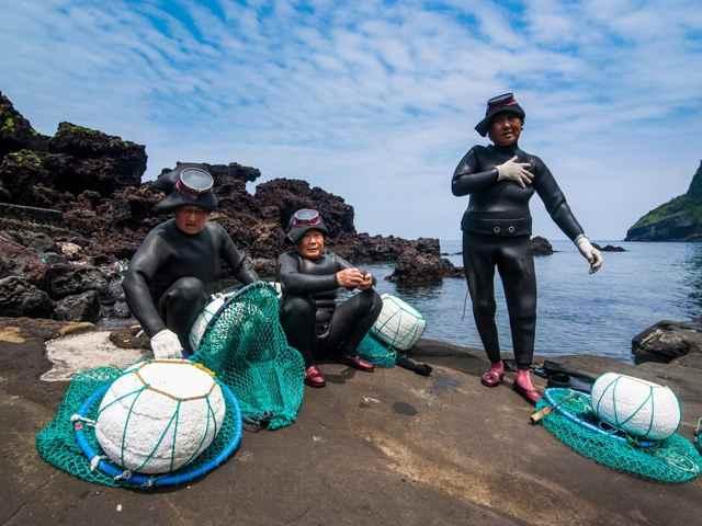 buzos haenyeo, las mujeres del mar