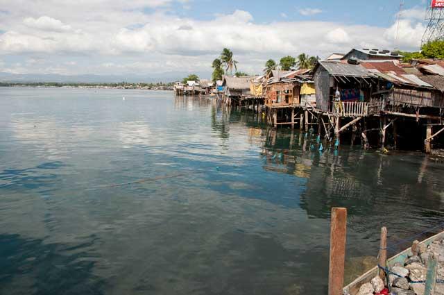 casas en peligro en Gesan, Filipinas