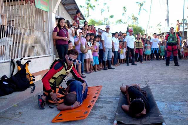 educación sobre desastres en Filipinas