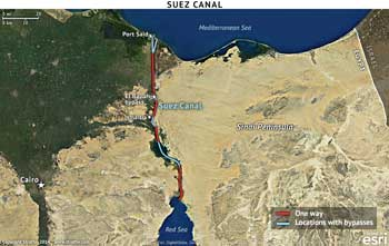 expansión del Canal de Suez