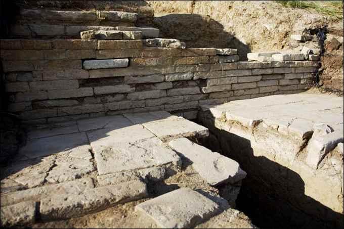 fortaleza Por-Bajin detalle de una construcción