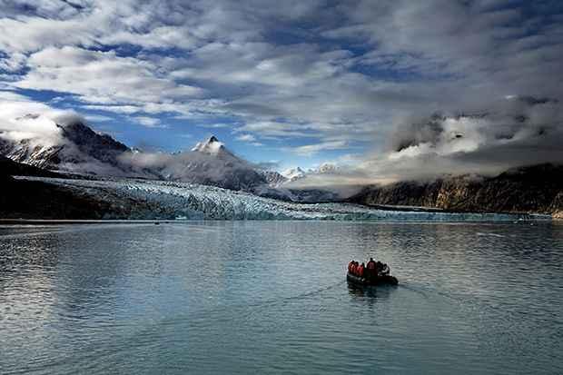 glaciar Rasmussen