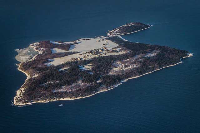 isla Bastøy, Noruega