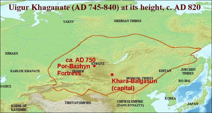 kaganato de Uighur