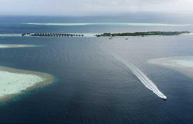 isla de Kudahuvadhoo, Maldivas