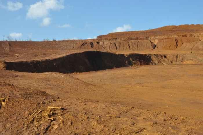 mina a cielo abierto en la isla Homonhon, Filipinas