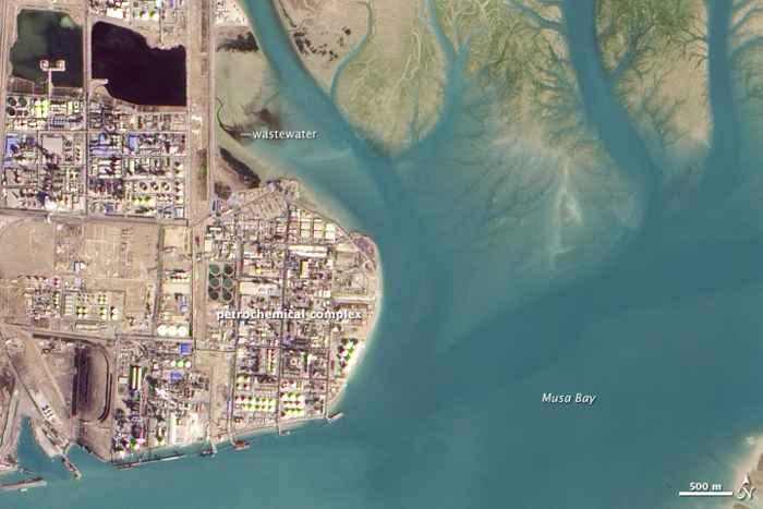 Musa Bay, Irán - detalle