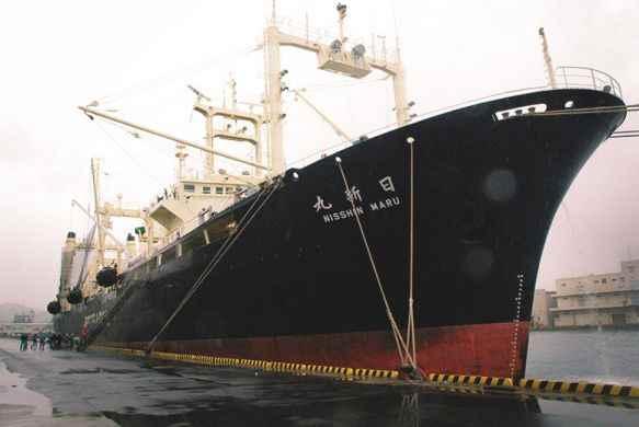 buque ballenero japonés Nisshin Maru