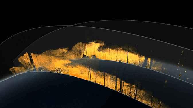 polvo del Sahara en la atmósfera