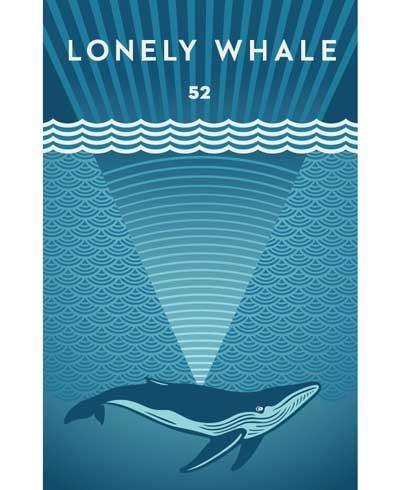 poster de la ballena más solitaria del mundo