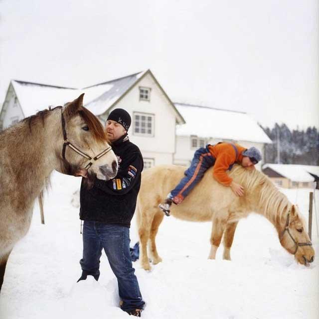 prisión Bastøy, Noruega - caballos