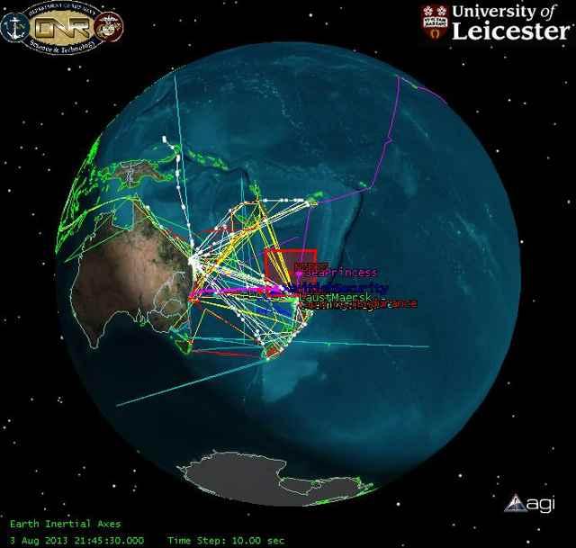 satélites pueden mejorar la seguridad en el mar