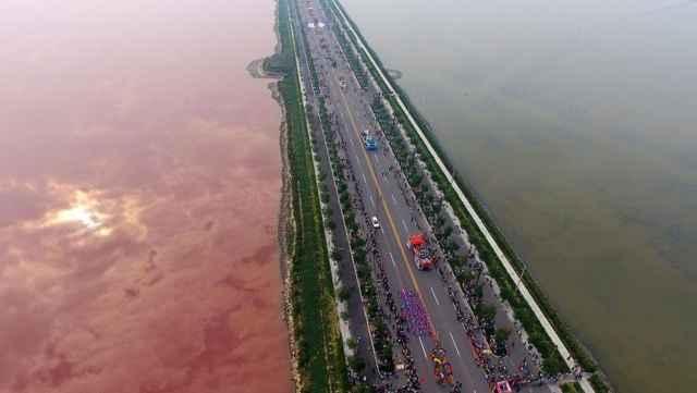 Lago Xiechi, China