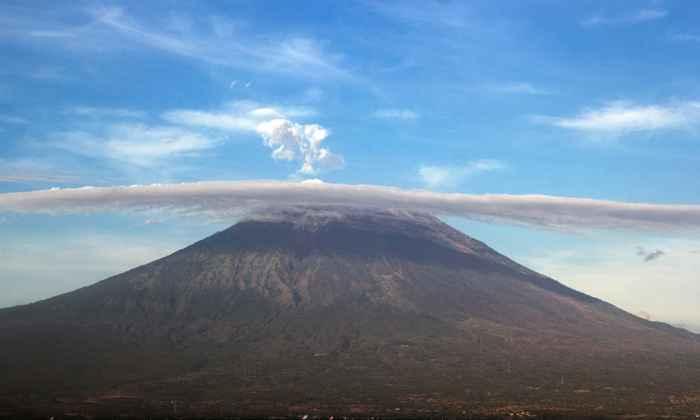 Monte Agung, Bali, Indonesia