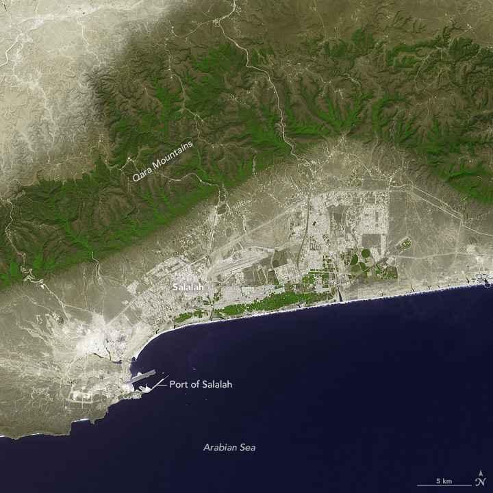 Port Salalah, Omán