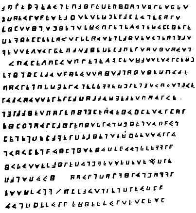 criptograma de Olivier Levasseur