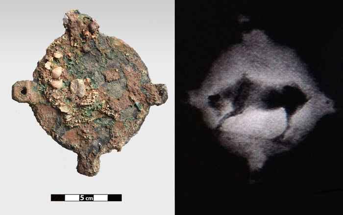 disco de bronce del naufragio de Anticitera