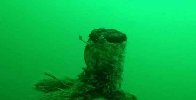 naufragio de U-Boot alemán de la I Guerra Mundial