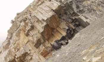 rocas del Pérmico con exceso carbono