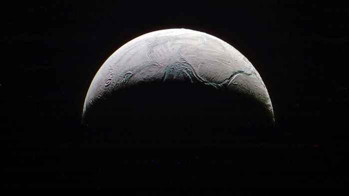 Encelado la luna de Saturno